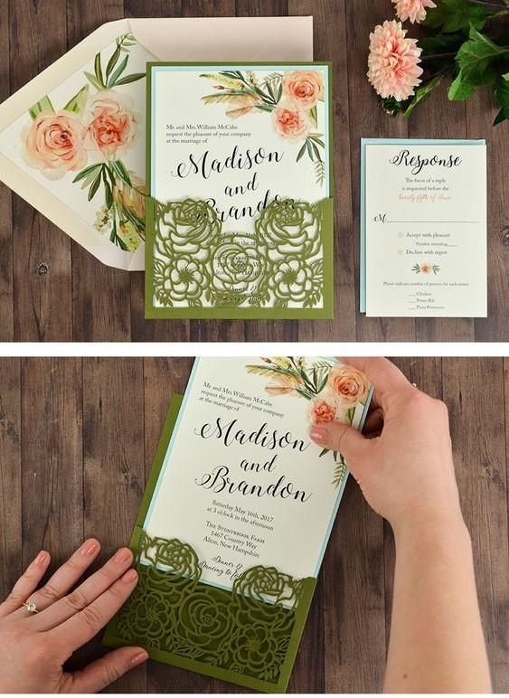4 mẫu thiệp cưới đơn giản và sang trọng - Boong Weeding Film