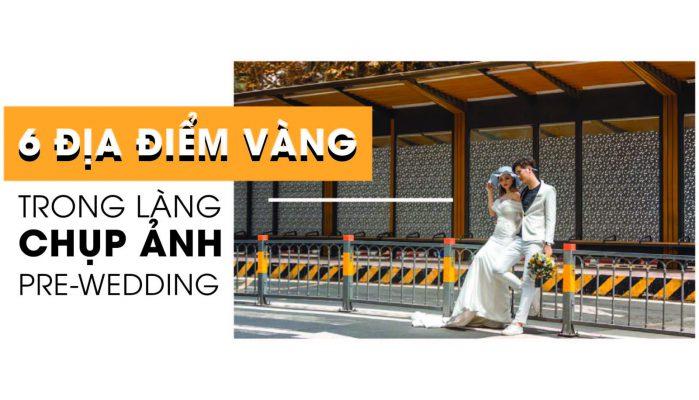 các địa điểm chụp ảnh cưới ở sài gòn