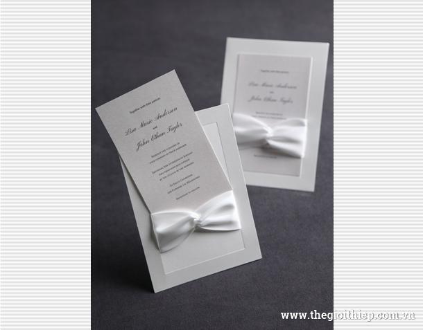 Bộ sưu tập Thiệp cưới BS12014