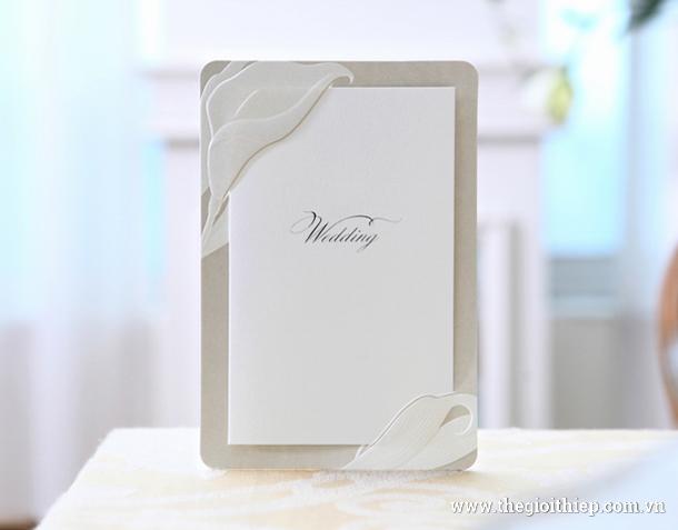 Thiệp cưới sang trọng & hoàn mỹ BH3264