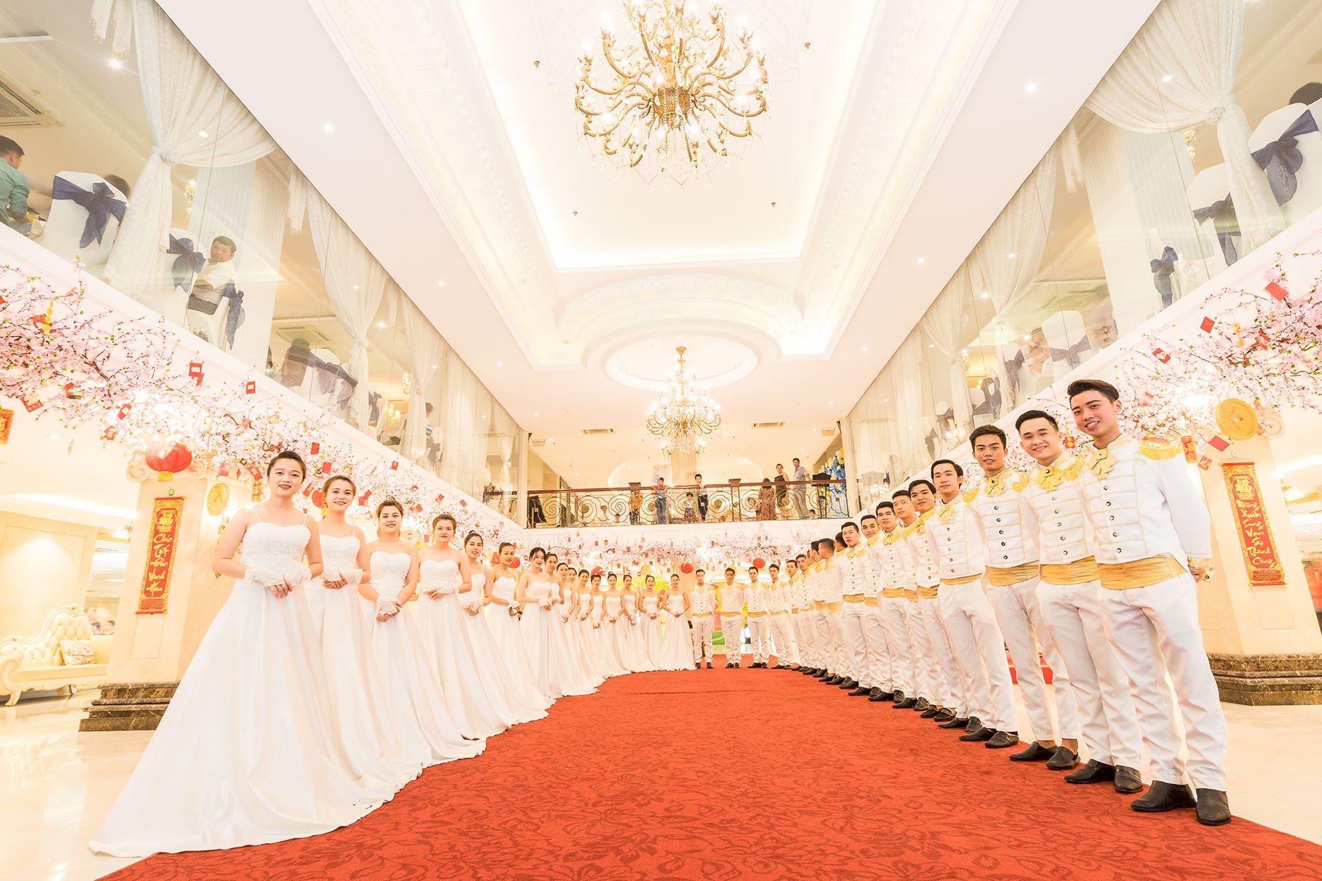 Danh Sách 7 nhà hàng tiệc cưới sang trọng ở Sài Gòn.