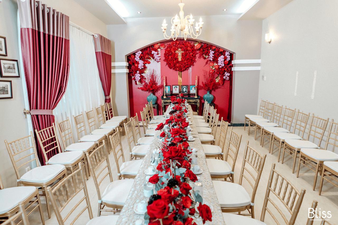 Trang Trí Lễ Gia Tiên Thiên Chúa Giáo Tại Nhà - Bliss Việt Nam - Trang trí  tiệc cưới & sự kiện hàng đầu Việt Nam