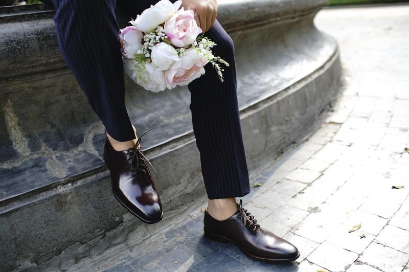 Những phong cách giày tây đẹp nhất cho ngày cưới của bạn