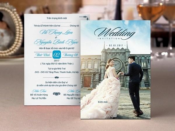 Top 5 địa điểm in thiệp cưới giá rẻ Hà Nội - CELEB Wedding