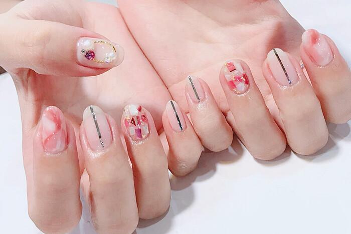 mẫu nail cô dâu đẹp